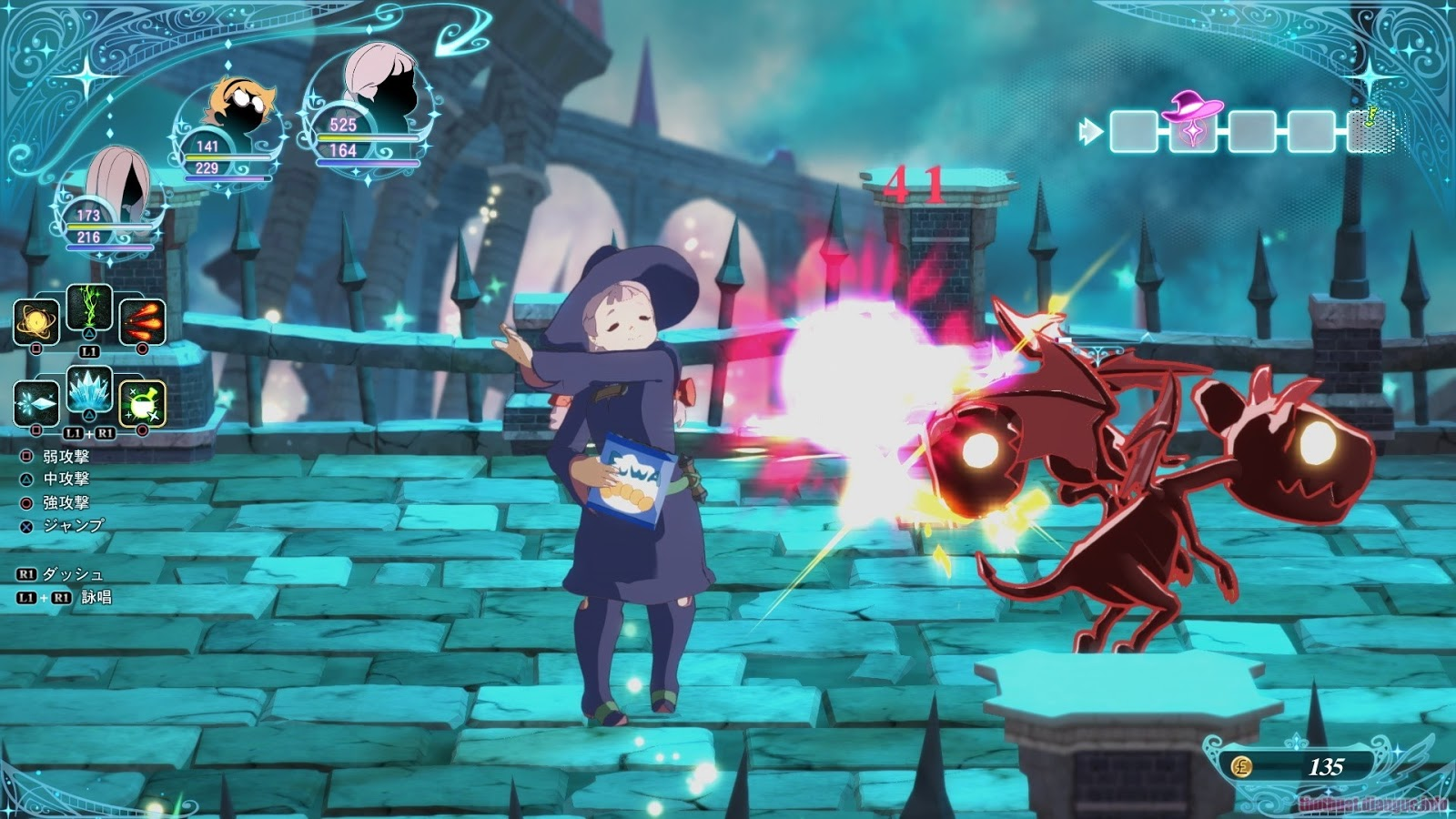 Download Game Little Witch Academia: Chamber of Time Full Crack