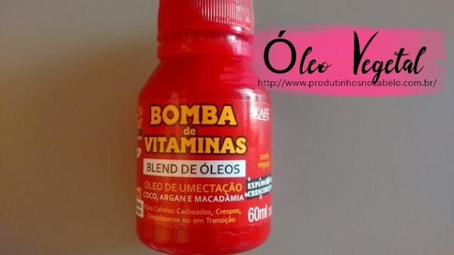 Óleo Bomba de Vitaminas