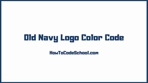 Old Navy Logo Color Code