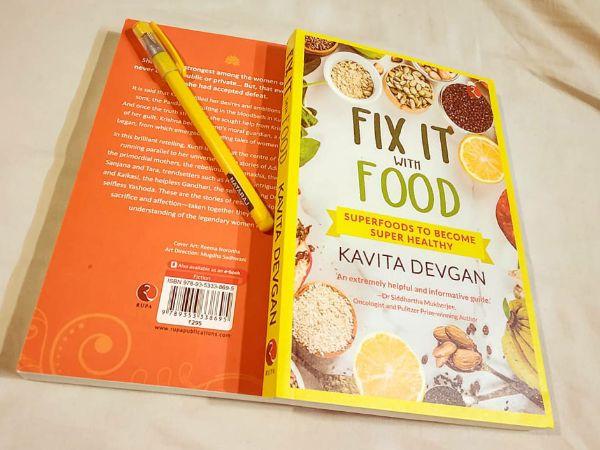 Fix it with food by Kavita Devgan