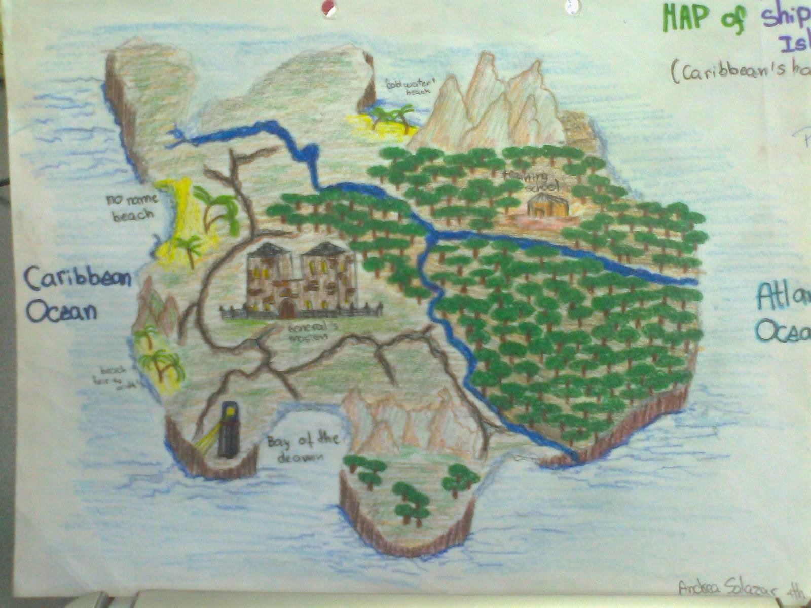 Ship Trap Island Map ~ AFP CV