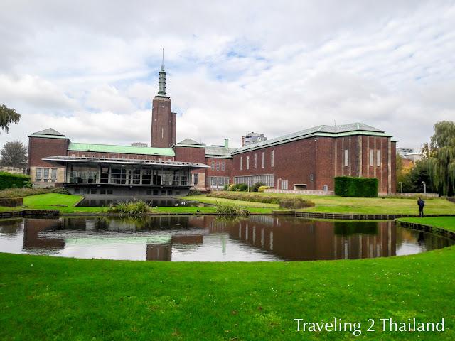 Traveling in Rotterdam, Netherlands