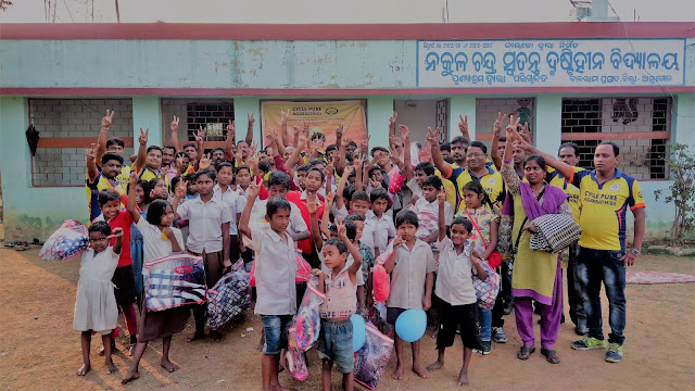 Cycle Pure Agarbathies rings in the New Year with differently-abled children in Odhisa