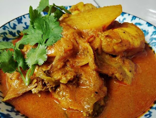 Chicken Panch Phoran korma - Chicken Curry with Panch Phoron