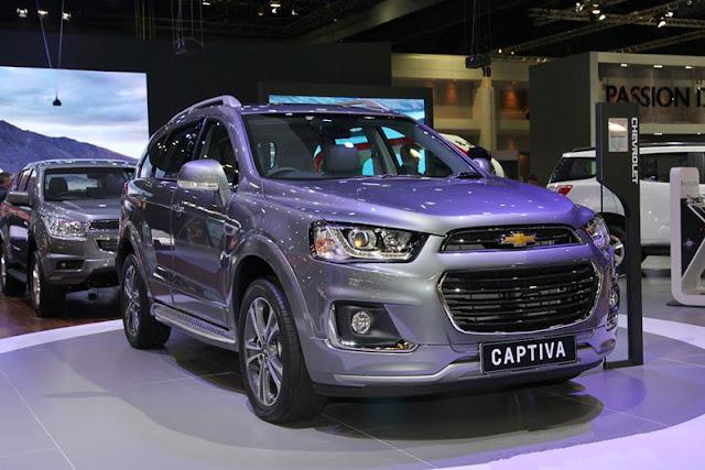 Xe Chevrolet Captiva 2016 và những thay đổi