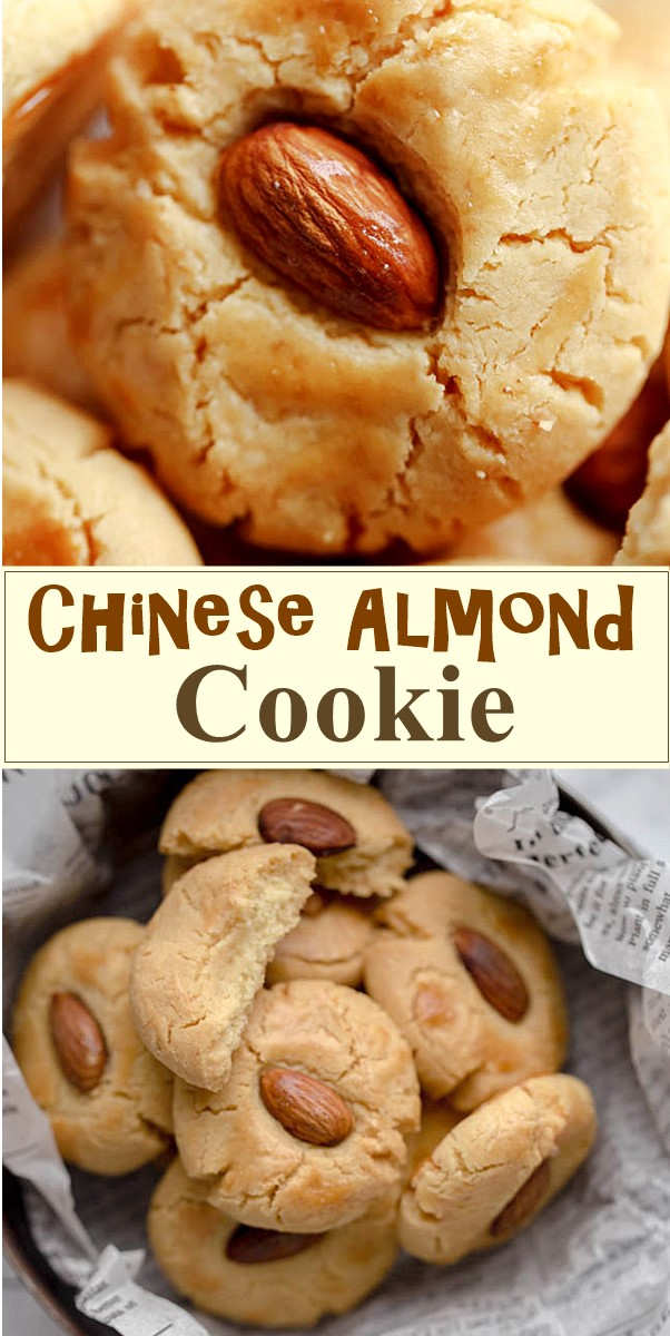 Chinese Almond Cookie #cookiesrecipes