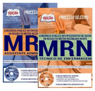 apostila do MRN - BA  -Consórcio de Saúde da Região do Metro Recôncavo Norte