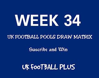 UK football pools draw matrix