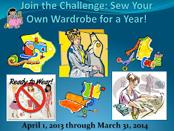 Sew Your Own Wardrobe For a Year