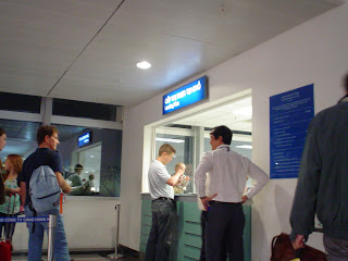 L'aeroporto internazionale di Ho Chi Minh City. Vietnam
