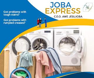 Joba Express laundry services Ilorin