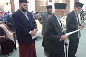 Abu Daud Zamzami Resmi Dikukuhkan Jadi Ketua MPU Aceh PAW Masa Bakti 2017-2022
