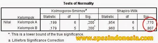 Cara Uji Normalitas Shapiro-Wilk dengan SPSS Lengkap