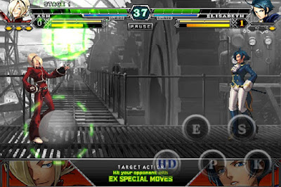 THE KING OF FIGHTERS Apk for Android [KOF] Update 2012(F) APK+OBB