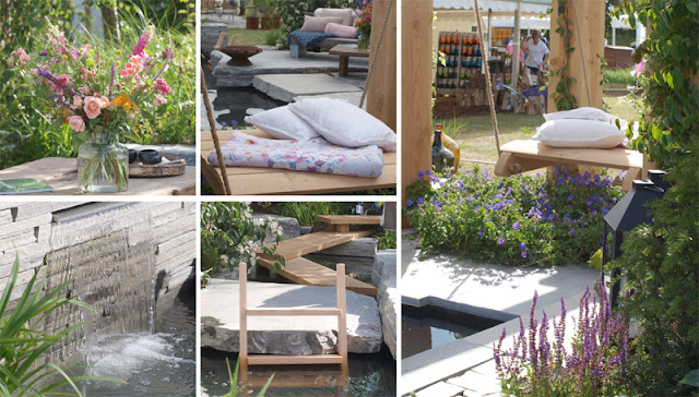 Showhave fra Cph Garden med vand som tema