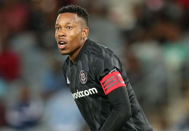 Orlando Pirates captain Happy Jele