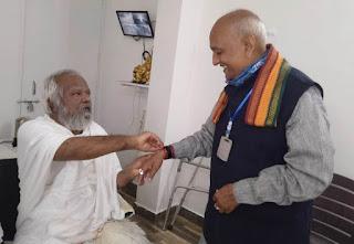 श्री मोहनखेड़ा महातीर्थ में श्री हुकुचंद सावला का हुआ आगमन