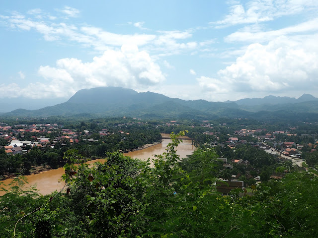 View from Mount Phousi, Luang Prabang, Laos