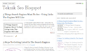 Template Seo Blogger (5 SEO Friendly Blogspot Templates)