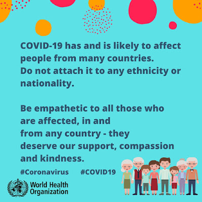 COVID is a world problem WHO