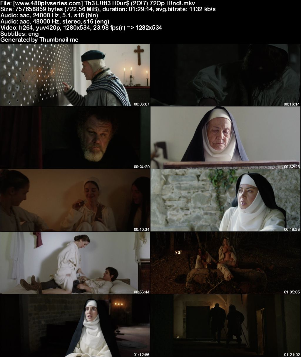 Watch Online Free The Little Hours (2017) Full Hindi Dual Audio Movie Download 480p 720p Bluray