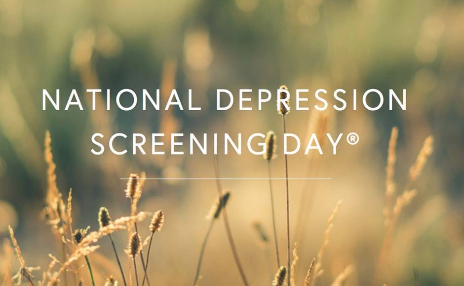 National Depression Screening Day Wishes Images