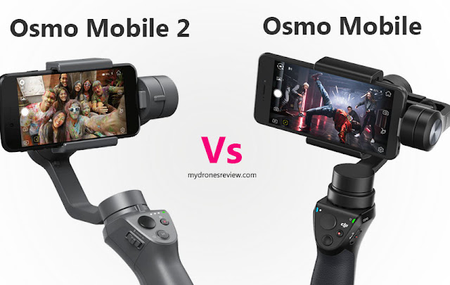 DJI simply released 2 novel products correct earlier the start of the Consumer Electronics Sho DJI OSMO MOBILE 2 Review - What is the Differences