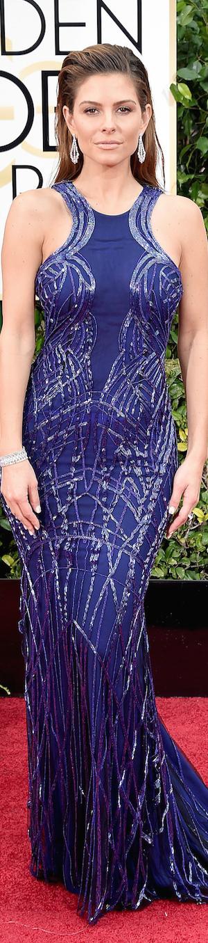 Maria Menounos 2015 Golden Globes