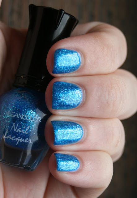 Kleancolor - Shining Sea over Jordana - Sapphire swatch
