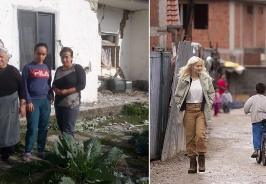 Rita Ora kept the promise: She build the Sala family home affected by the earthquake