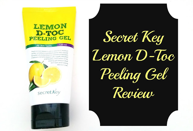 Secret Key Lemon D-Toc Peeling Gel Review
