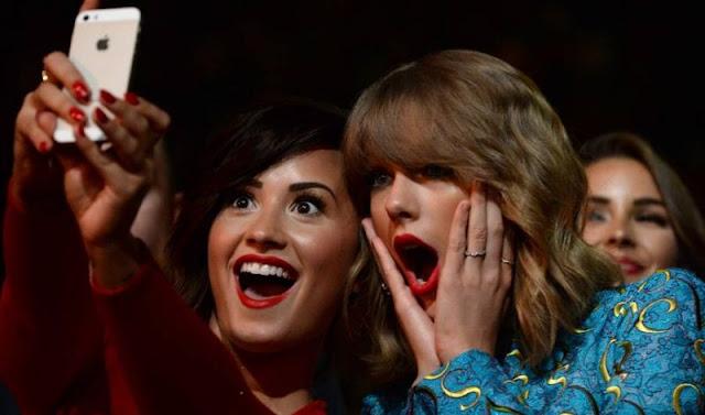 Demi Lovato arremete de nuevo contra Taylor Swift.