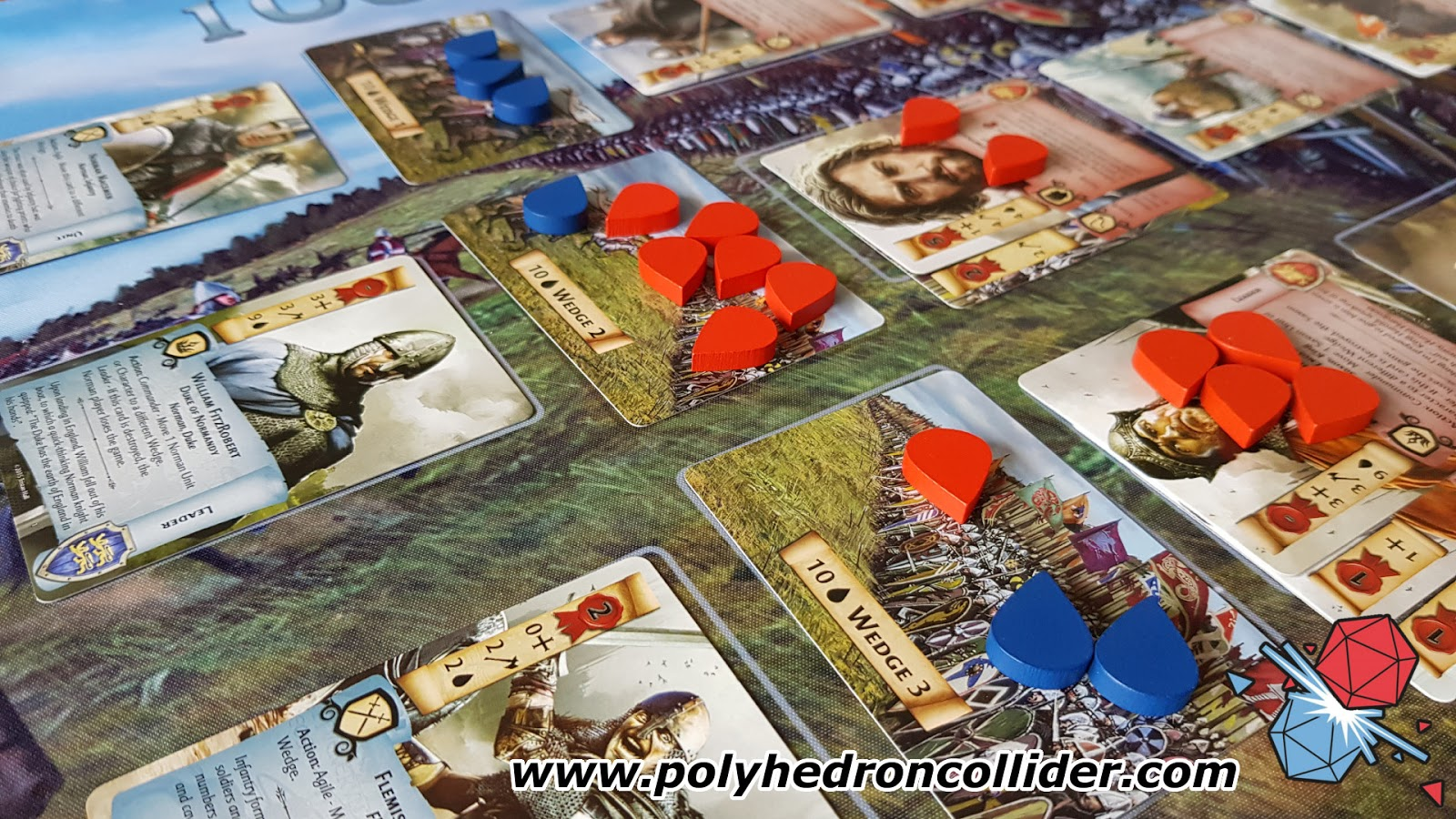 1066 Tears to Many Many Mothers Board Game Review - Wedges