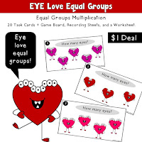 Eye Love Equal Groups
