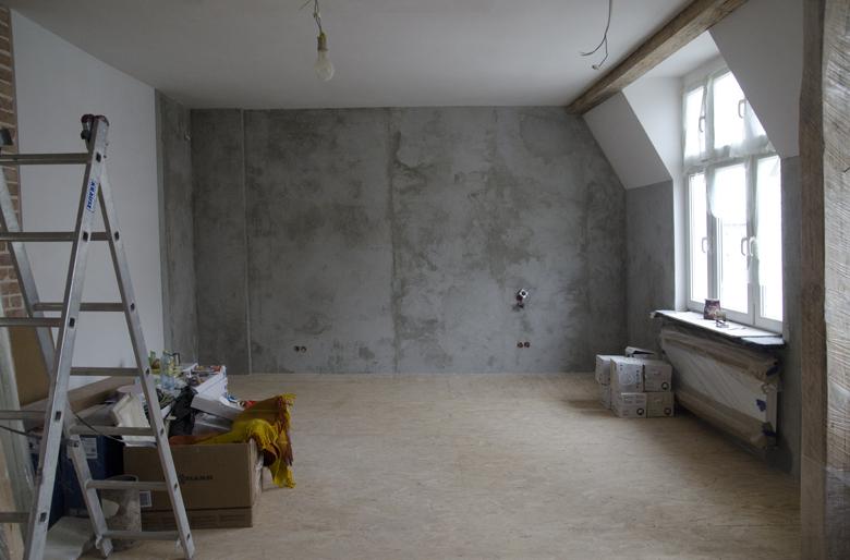 Remont mieszkania w kamienicy w Sopocie.