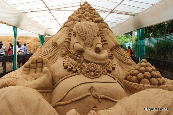 Eco friendly Ganesha Sand Museum Mysore