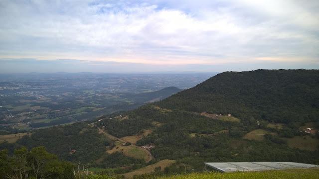 Vista panorâmica do Vale do Taquari