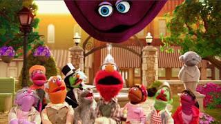 Elmo the Musical Repair Monster the Musical, The Great Halfini, velvet, Sesame Street Episode 4410 Firefly Show season 44