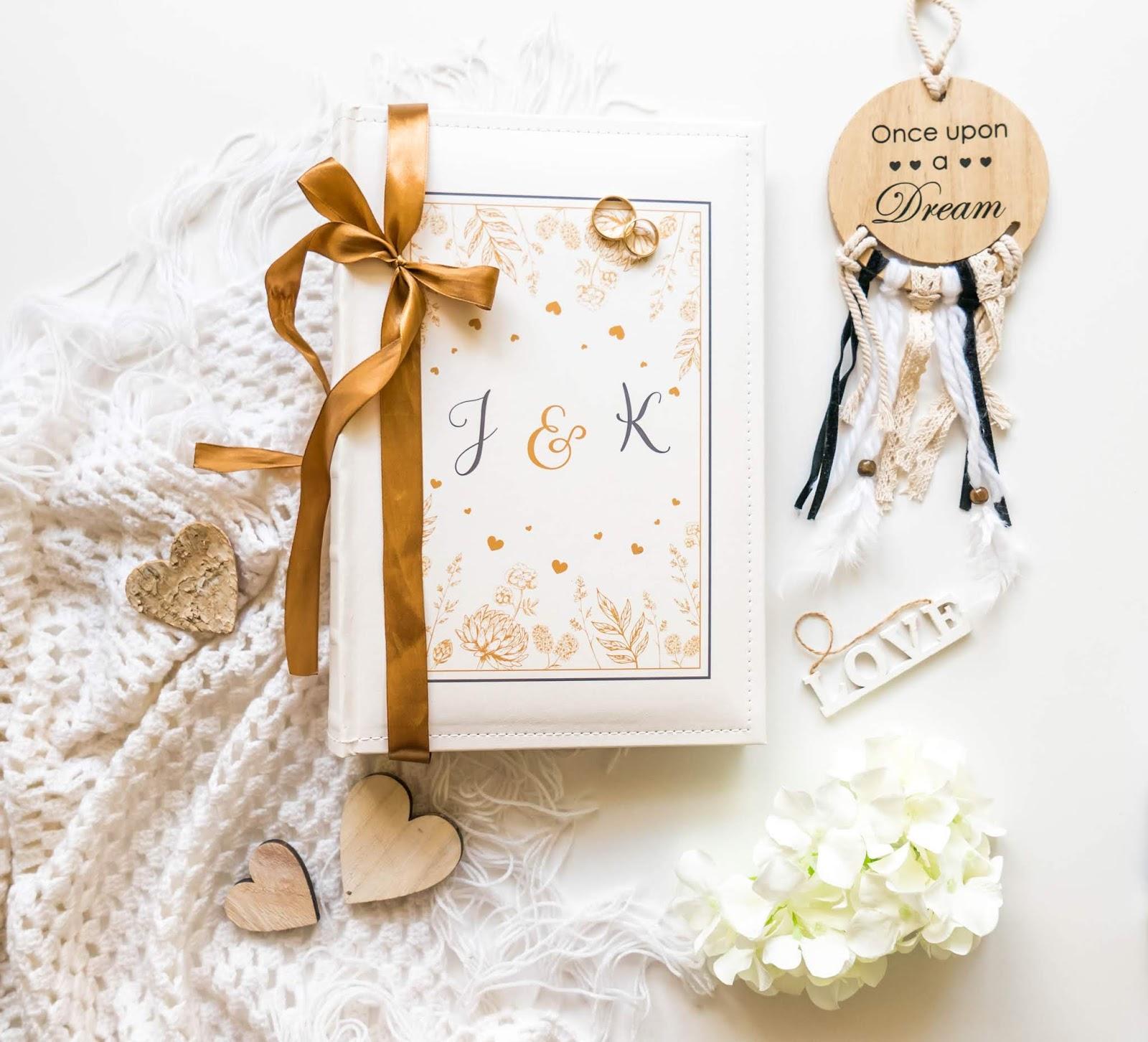 spersonalizowany prezent ślubny