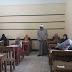شومان يتابع امتحانات مادتي القرآن والبلاغة بلجان شبرا وبنها