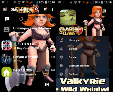 BBM Mod Clash of Clans Apk Terbaru [CoC]