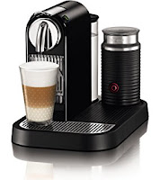 Nespresso CitiZ Espresso Maker with Built-in Aeroccino Milk Frother