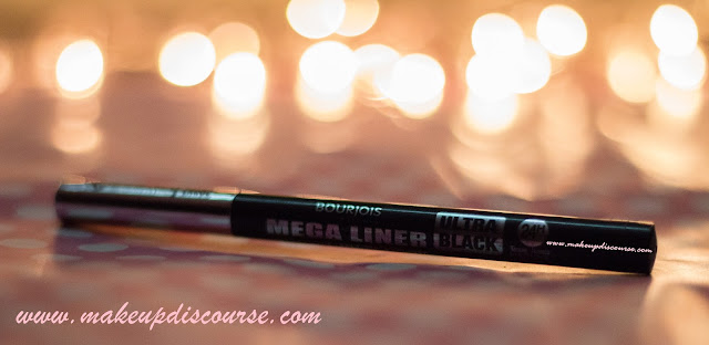 Bourjois Mega Liner in Ultra Black Review: Swatches, EOTD & FOTD