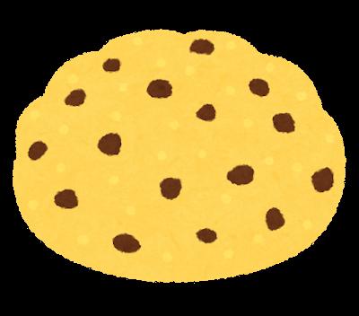 チョコチップメロンパンのイラスト