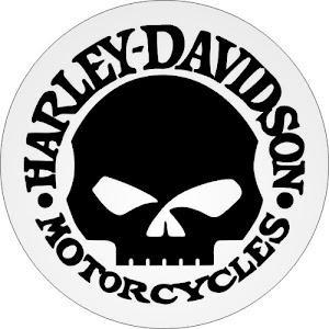 Sarung Cover Ban Serep Gambar Harley Davidson