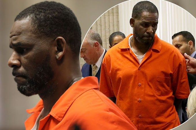 R. Kelly Receives Both COVID-19 Vaccine Doses In Prison