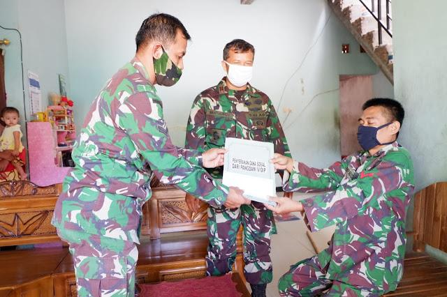 KodimKaranganyar - Kepedulian Kodam IV Diponegoro Kepada Prajuritnya