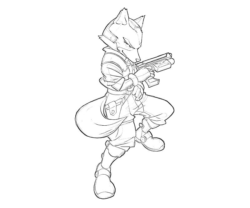 star fox coloring pages - star fox free coloring pages