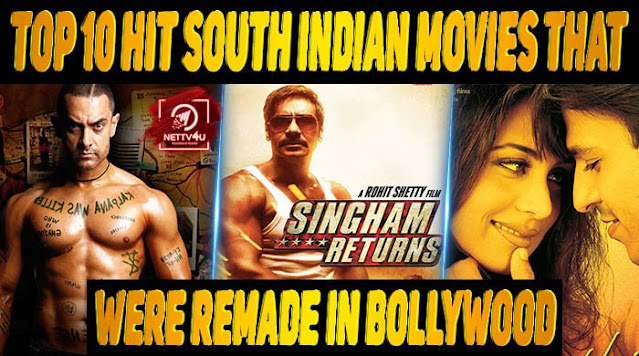 IMDB Top Rated 10 South Films Remade in Hindi - Best Popular Movies