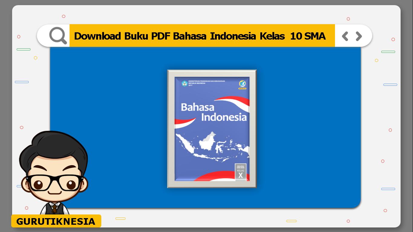 download buku pdf bahasa indonesia kelas 10 sma/ma